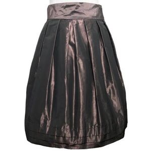 NWT Banana Republic Shimmery Pleated Taffeta Skirt
